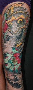 Tattoo Asia Hennay Sleeve Arm