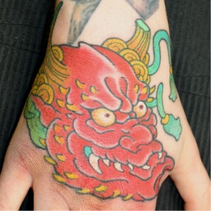 Tattoo Asia Hennya Sleeve Hand