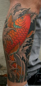 Tattoo Asia Koi
