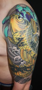 Tattoo Asia Koi Arm