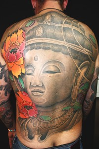 Tattoo Asia Ruecken Figur