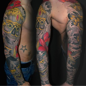 tattoo asia sleeve hennya arm