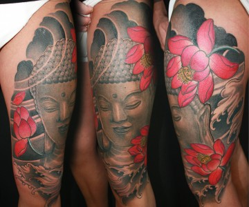 Tattoo Buddha Arm