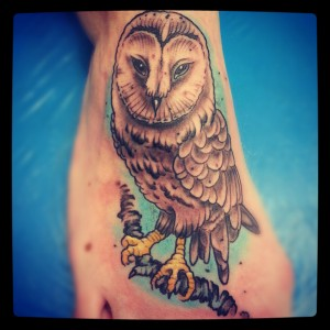 Tattoo Eule Owl