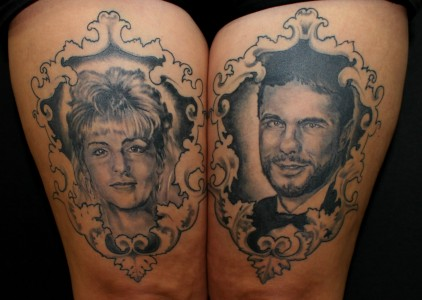 Tattoo Familie Portrait
