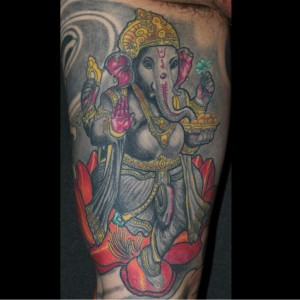 Tattoo Ganesha Hindi Indisch