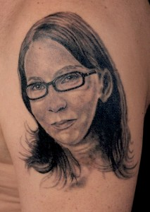 Tattoo Portrait Frau