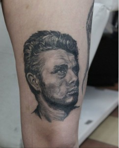 Tattoo Portrait Mann