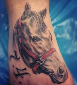 Tattoo Portrait Pferd