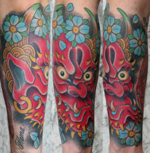 Tattoo Sleeve Oni