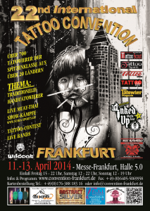 22nd international Tattoo Convention Frankfurt
